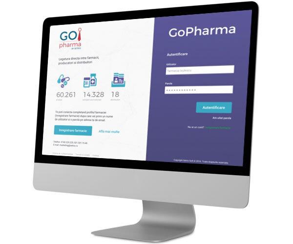 GoPharma platforma comenzi medicamente online, pharma B2B